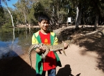 coi-on-holiday-in-townsville-holding-small-croc